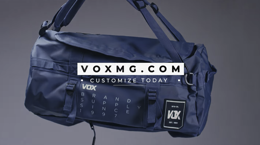 custom duffel bags by Vox Marketing Group