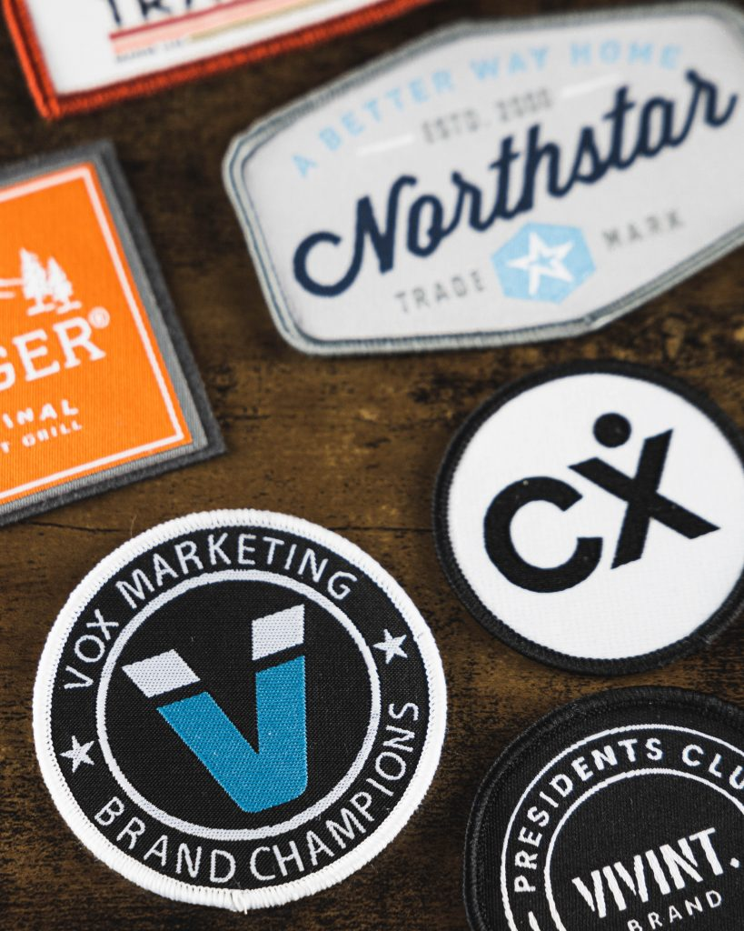 custom woven hat patches vox