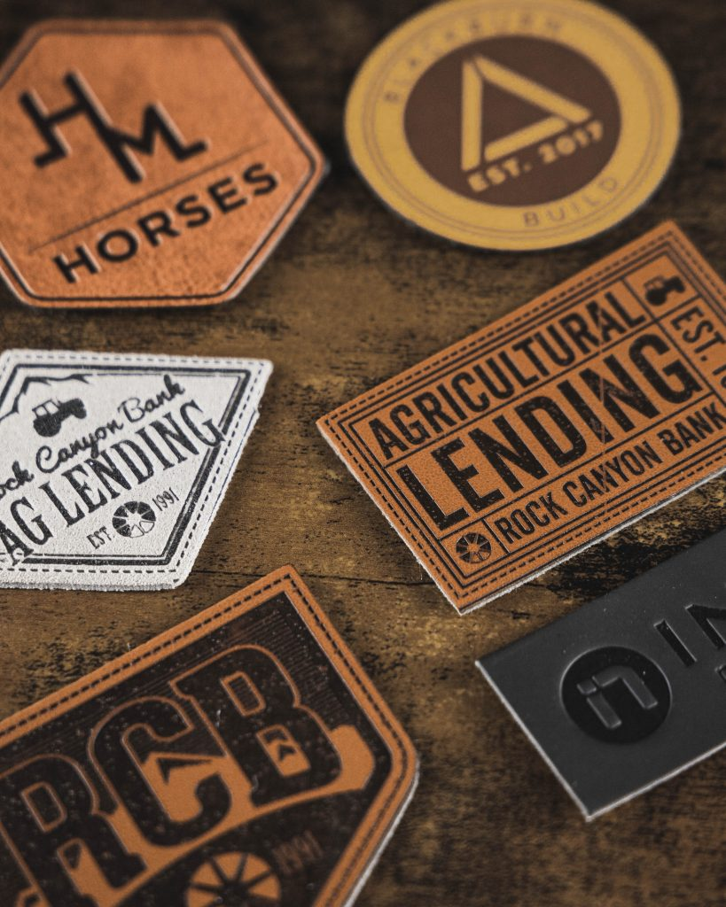 custom leather patches for hats utah vox