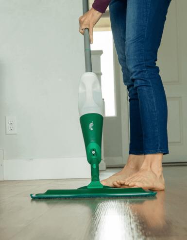 custom spray swiffer mop