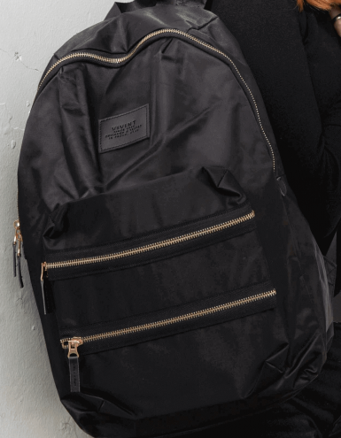 Custom Zipper on backpack