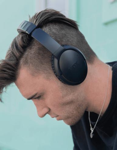 custom noise cancelling over ear headphones