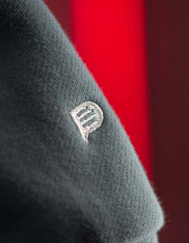embroidered sleeve